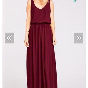 NWT Bridesmaid or special event maxi dress